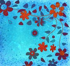 Free Grunge Flowers Stock Image - 1532591