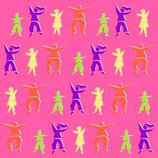 Free Childish Pattern Stock Photo - 1532910