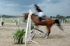 Free Blurry Jump. Stock Photography - 1533682