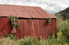 Free Red Shed Stock Photo - 1534650
