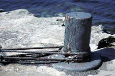 Free Blue Pole Royalty Free Stock Photo - 1534825