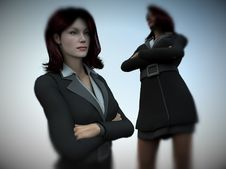Free Business Women 5 Royalty Free Stock Photography - 1535457