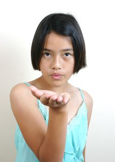 Free Asian Teen (series) Royalty Free Stock Images - 1535959