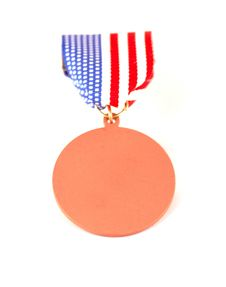 Free American Flag Medal Royalty Free Stock Photography - 1536127