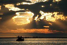 Free Fishing On Baikal Stock Image - 1536171
