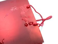 Free RED GIFT BAG Royalty Free Stock Photography - 1536247