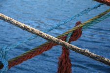 Free Diagonal Rope Royalty Free Stock Photography - 1536277