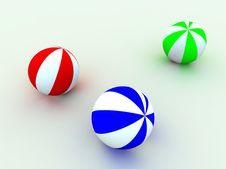 Free Varicoloured Child S Balls Stock Photos - 1537193