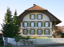 Free Old Swiss House 6 Stock Photo - 1537660