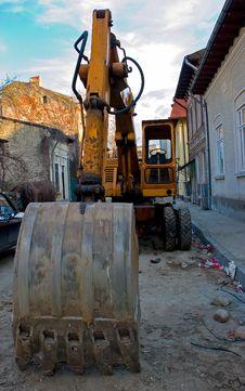 Free Excavator Royalty Free Stock Images - 1537929