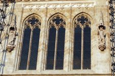 Free Church Windows Stock Photography - 1538132