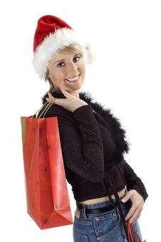 Free Santa Girl Royalty Free Stock Photography - 1538327