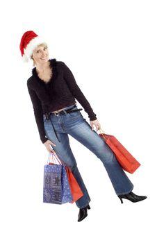 Free Santa Girl Royalty Free Stock Images - 1538339