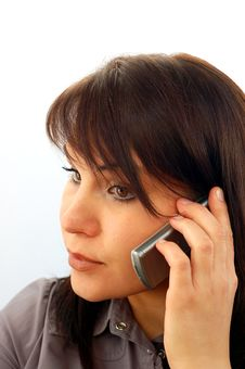 Free Businesswoman With Mobile Phone 4 Royalty Free Stock Photos - 1538428