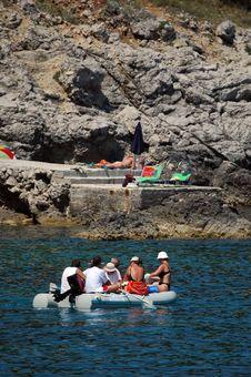 Free Plastic Boat Stock Image - 1538611