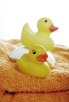 Free Duckies Royalty Free Stock Photos - 1539158