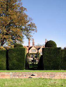 Free Grand English House Royalty Free Stock Photos - 1539468