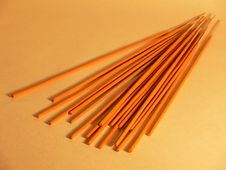 Free Incense Sticks Royalty Free Stock Image - 1539916