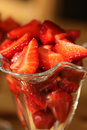 Free Strawberry In Glass Royalty Free Stock Image - 15303766