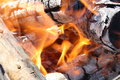 Free Fiery Coals Stock Image - 15306461