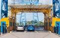 Free Middlesbrough Transporter Bridge Royalty Free Stock Photo - 15307885
