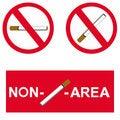 Free Non Smoking Area Royalty Free Stock Image - 15309286