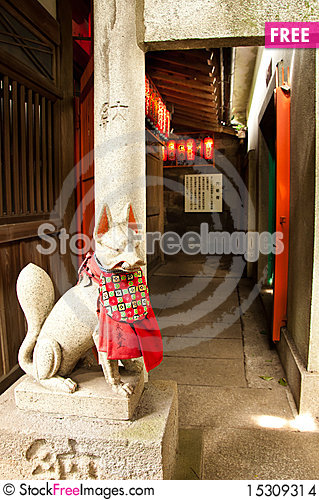 Free Japanese Temple Stock Images - 15309314
