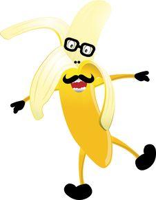 Free Banana Mascot Stock Images - 15300124