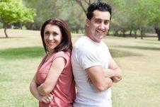 Free Sweet Couple Enjoy Their Weekend Royalty Free Stock Photos - 15300328