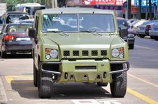 Free Army Jeep Stock Photos - 15300613