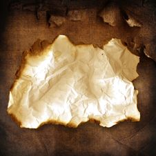 Free Old Burnt Paper Stock Image - 15301591