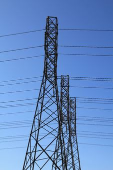 Free Power Towers Stock Photography - 15302952