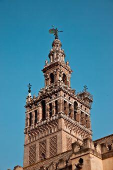 La Giralda, Seville - Spain Royalty Free Stock Photos