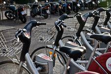 Free Bikes In Seville Stock Image - 15303561