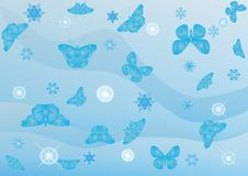 Free Winter Butterflies Royalty Free Stock Photo - 15303935