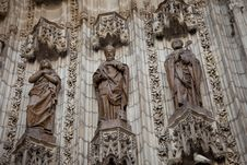 Free Seville S Cathedral Stock Photography - 15304022