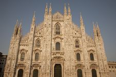 Free Duomo Cathedral, Milan Stock Photography - 15304042