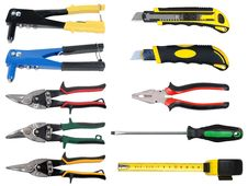Free Tools Set Royalty Free Stock Images - 15304049
