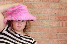 Free Pink Punk Hat Stock Photo - 15304200