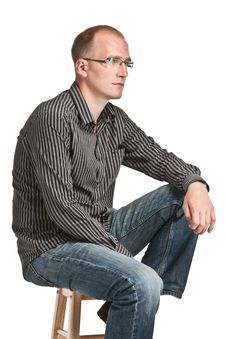 Free Man In Glasses Stock Photos - 15304443