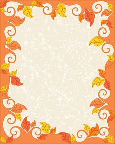 Free Autumn Frame Stock Images - 15304724