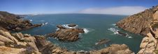 Free Bay Of Rocks Near Cabo Da Roca Royalty Free Stock Images - 15306699