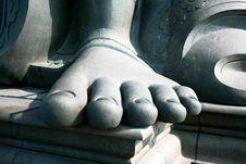 Free Thiruvalluvar S Feet On Island Near Kanyakuma Stock Photography - 15306942