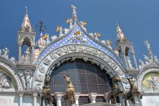 Free St Mark S Basilica Royalty Free Stock Photos - 15307198