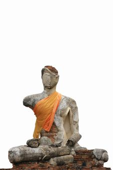 Free Uin Buddha Monument On The White Background Stock Photo - 15307230