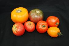 Free Heirloom Tomatoes Stock Photography - 15307292