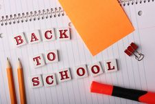 Free Back To School Stock Photo - 15307360