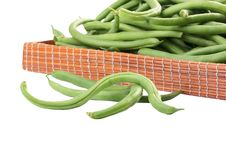 French Bean Stock Image