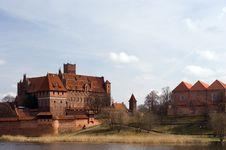 Free Castle Of The Teutonic Knights Malbork - Poland Royalty Free Stock Photo - 15307545