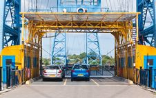 Free Middlesbrough Transporter Bridge Royalty Free Stock Photo - 15307885